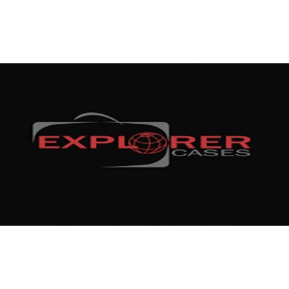 EXPLORER CASES 7641.BE BLACK WITHOUT FOAM + WHEELS