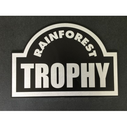 RAINFOREST TROPHY MAX540H245TR BLACK WITH TROLLEY