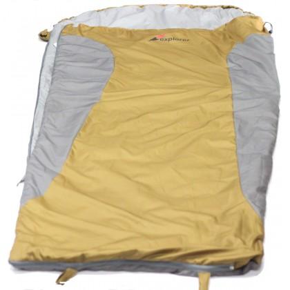 EXPLORER MINI ULTRALIGHT 2XL BROWN SLEEPING BAG